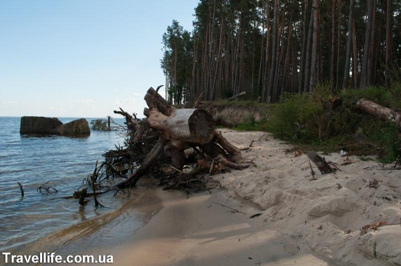 Киевское море, круча