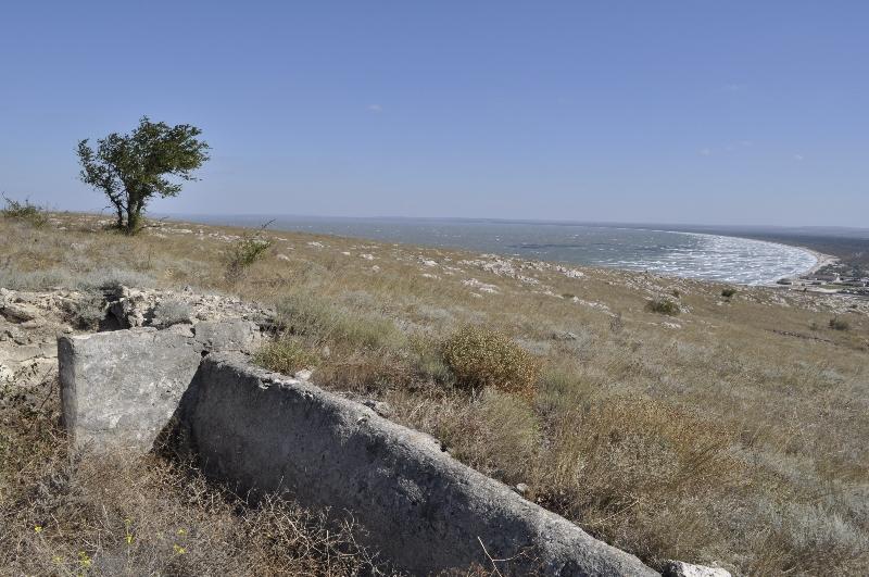 мыс Казантип - тоже ветрено