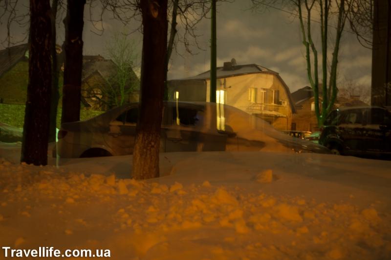 киев снег 2013