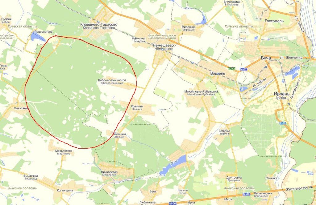 gribnyie mesta kiev 1024x666 Грибные места возле Киева   где киевлянам собирать грибы