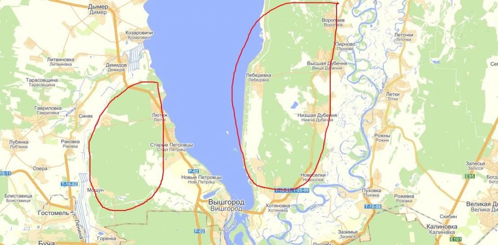 gribyi vozle Kieva 1024x505 Грибные места возле Киева   где киевлянам собирать грибы