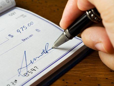 Как обналичивать чек